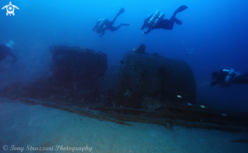 A Advance wreck 49 metres